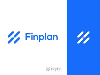 Logo  FinPlan finance graphic design design app icon illustration typography vector branding logo