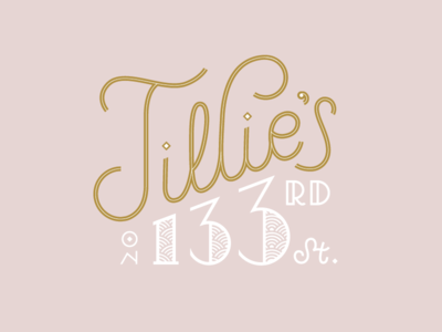 Tillie's on 133rd St.