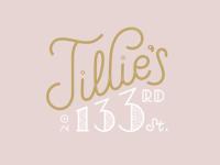 Tillie's on 133rd St.