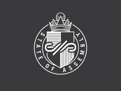 State of Assembly Badge