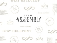 State of Assembly brand pattern