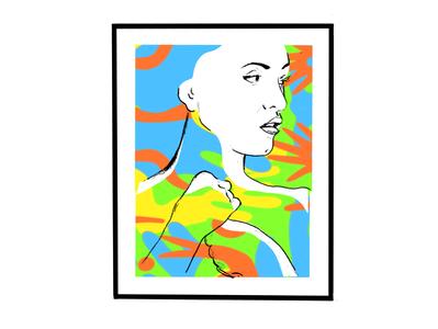 woman on frame 1