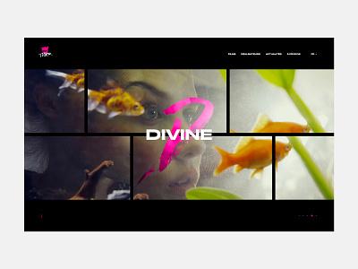 Easytiger - Portfolio movies cedrick homepage film movie app fullscreen films web transition minimal grid typography website ux ui portfolio interaction lachot desktop animation