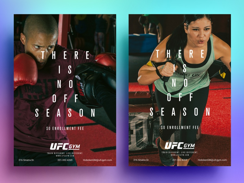UFC GYM by Angel Vasquez on Dribbble