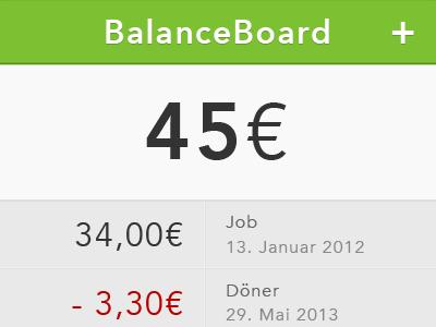 Money Balance Board App money app preview