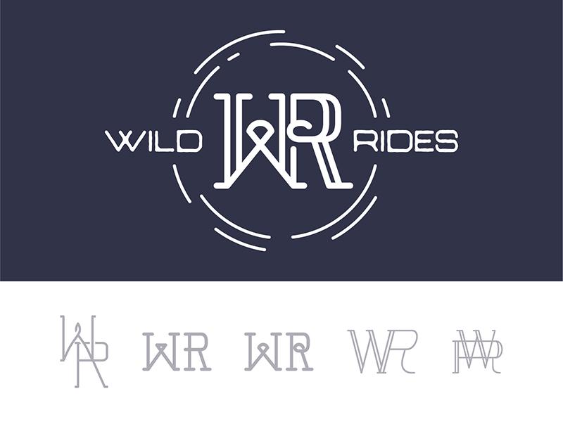 2 wild rides logo 2