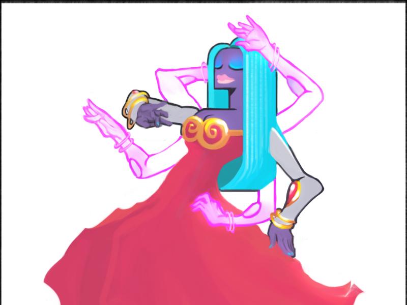 124 Jynx - Pokemon One a Day goddess pokemon jynx dance cartoon