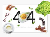 Daily UI #17 404