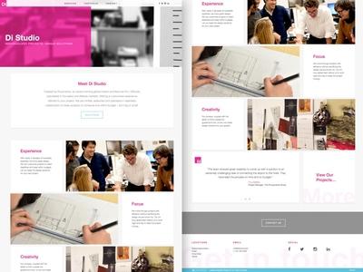 DiStudio Website Redesign