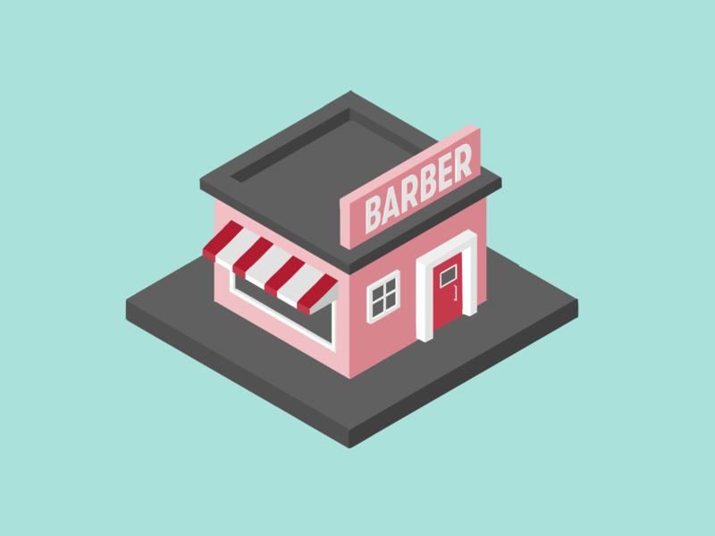 Barber isometry illustration