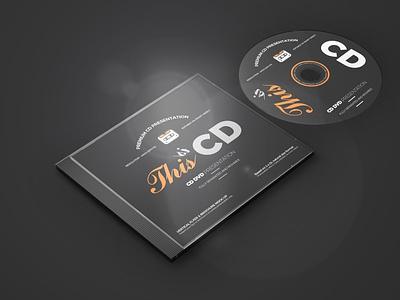 Free CD/DVD Album Mock-up cover design cd cover dvd cover