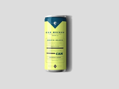 Free Can Mock-up freebie mockup pepsi coca cola 330ml bottles can