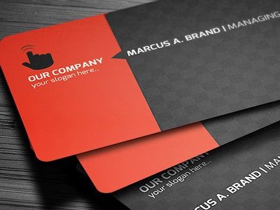 Rounded corner business card by graphicboat dribbble 921 1 product description rounded corner business card compatibility through different placement and you and your company colourmoves