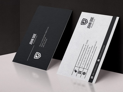 Free black white business card vol 2 by graphicboat dribbble customers with simple elegant business card design to demonstrate the seriousness and professionalism are clearly designed business card colourmoves