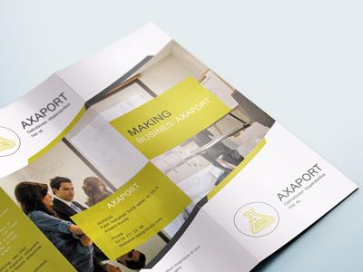Free Corporate Business Tri-Fold Brochure