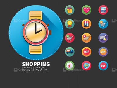 E-Commerce Icon Set 30 icons