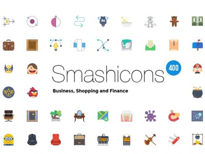 Free 400 Shop Business Finance Icons