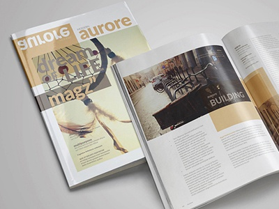 free indesign magazine templategraphicboat - dribbble, Powerpoint templates