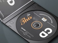 CD/DVD Album Mock-ups