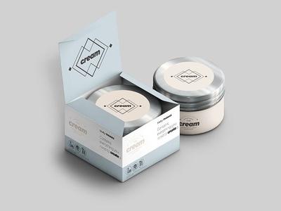 Cream Mock-ups Pack tube shampoo scent perfumery perfume package mockup mock-up mock up metal jar cream cosmetic package cosmetic cap box beauty beautiful aluminum