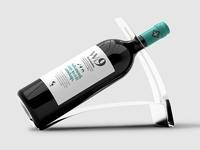 Wine Bottle Mock-ups PACK