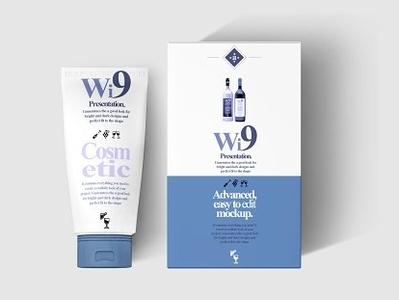 Cosmetic Tube & Box Mock-ups PACK tube soap shine shampoo scent package mockup mock-up mock up liquid jars jar dispenser cream cosmetic cartoon box beauty beautiful