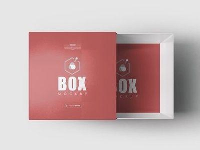 Square Box Mock-ups