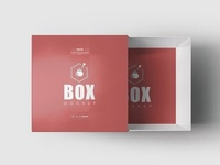 Square Box Mock-ups