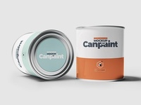 Can of Paint Mock-upS