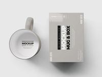 Mug & Box Mock-up
