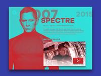 Movie Dashboard Spectre
