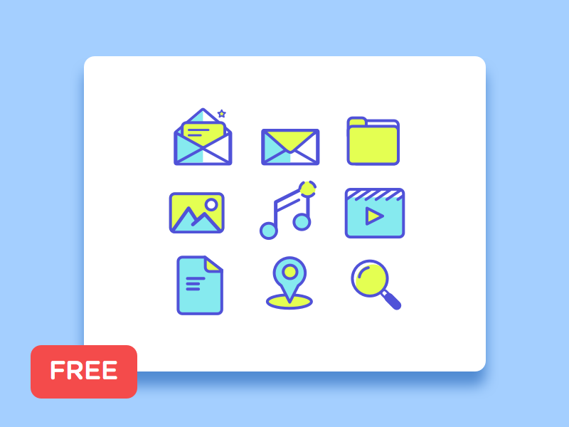 [Freebie] Simple line icon  sketch dailyui download yellow clean design stoke line icon free freebies freebie