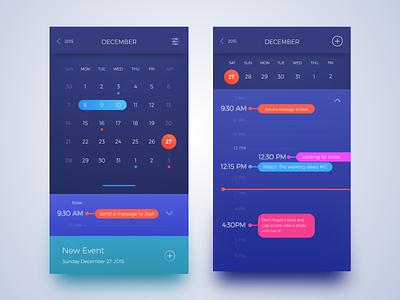 Calendar today task list app sketch mobile ios ux dailyui ui calendar