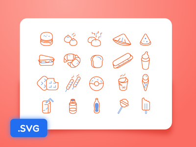 [Freebies] Food icon stoke svg daily sketch free download freebie food vector icon illustration outline