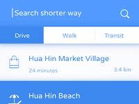 Shorter way app 01