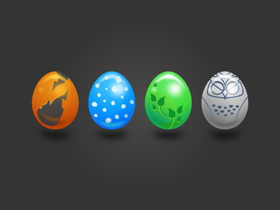 Mongi Egg Icon sketch challenge day games game icon illustration egg