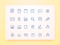 User interface icons full