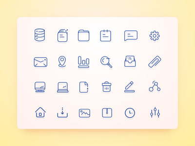[Freebies] User Interface Icons set office file vector freebie interface free sketch svg set icon user