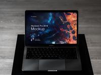 Macbook pro touchbar mockup 2018