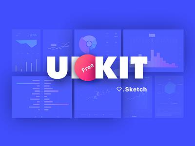 Chart UIkit free sketch diagram chart uikit