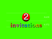 "The ""Art"" of Invitation invitation"