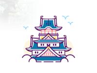 西国八景—大阪城天守阁