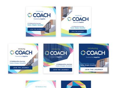 Coach - Social Media Ads marketing design display ads social ads