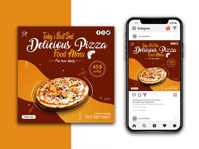Pizza Banners Instagram Template