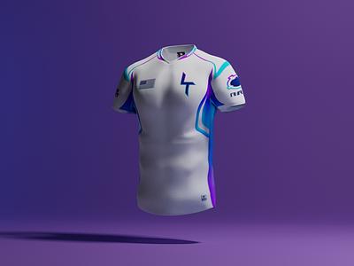 3D Shirt mockup jeresy shirt mockup blender modeling 3d