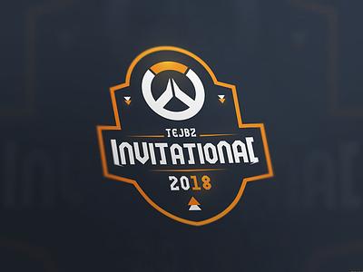 Tejbz Invitational gaming esport overwatch brand emblem badge logo