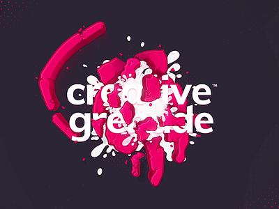 Creative Grenade splatter explosion paint grenade contest creative