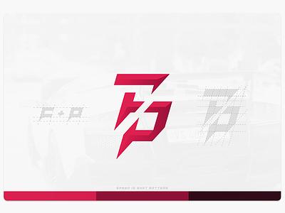 FellanPhoto Logomark brand speed photography fp p f mark logo