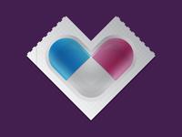 Heart-Shaped Pill