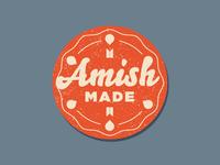 Amish Made - Sticker